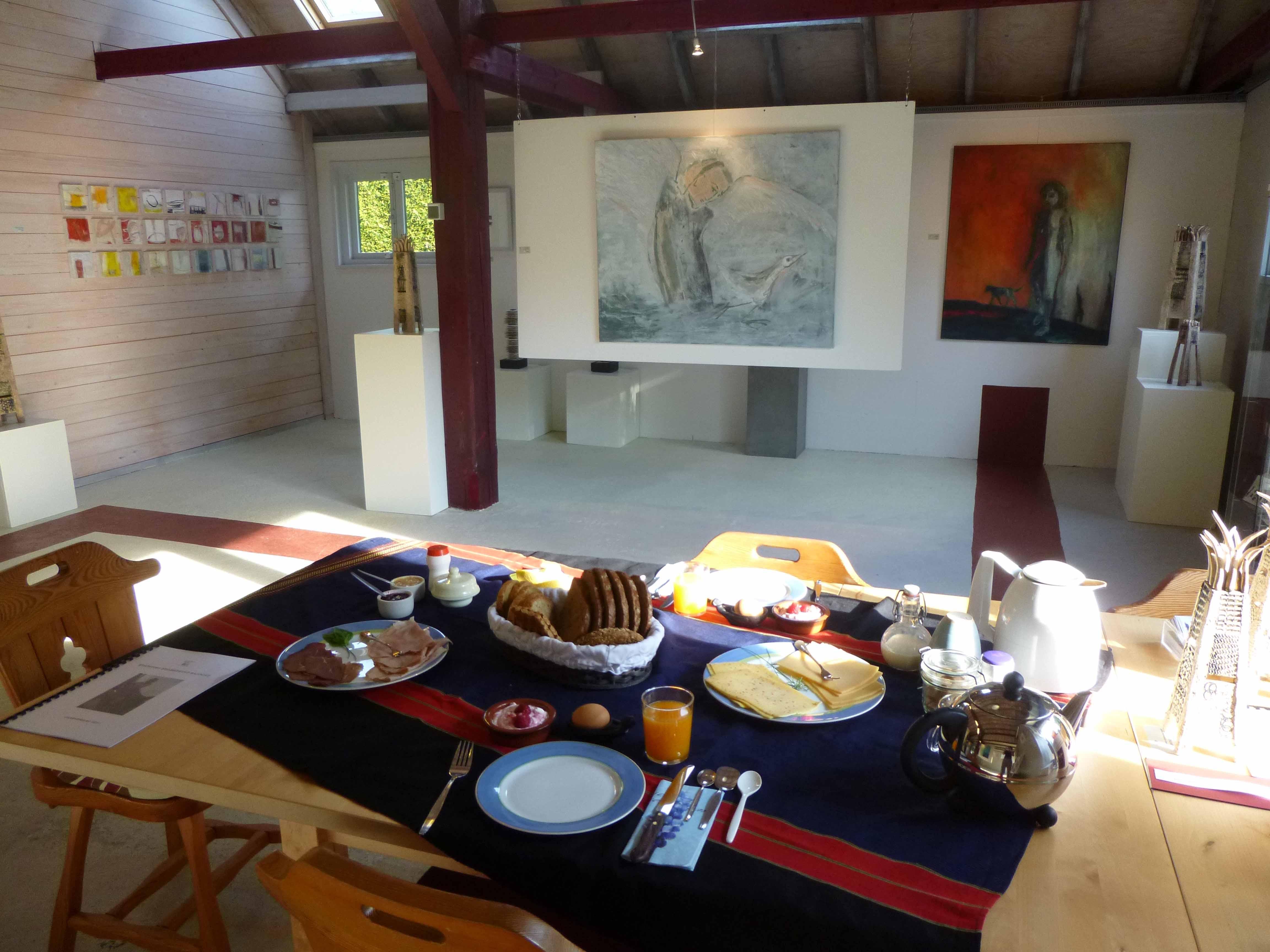 Ontbijt in de Galerij 1